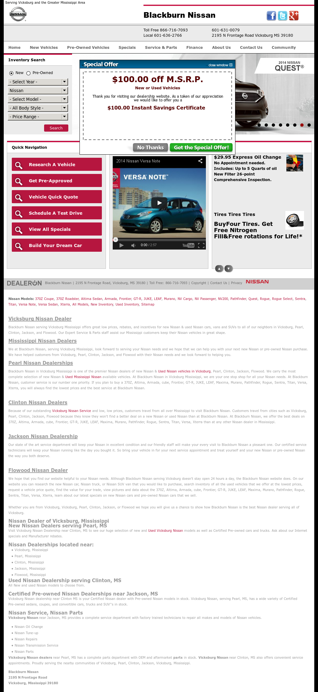 Marvelous Blackburn Nissan Competitors, Revenue And Employees   Owler Company Profile