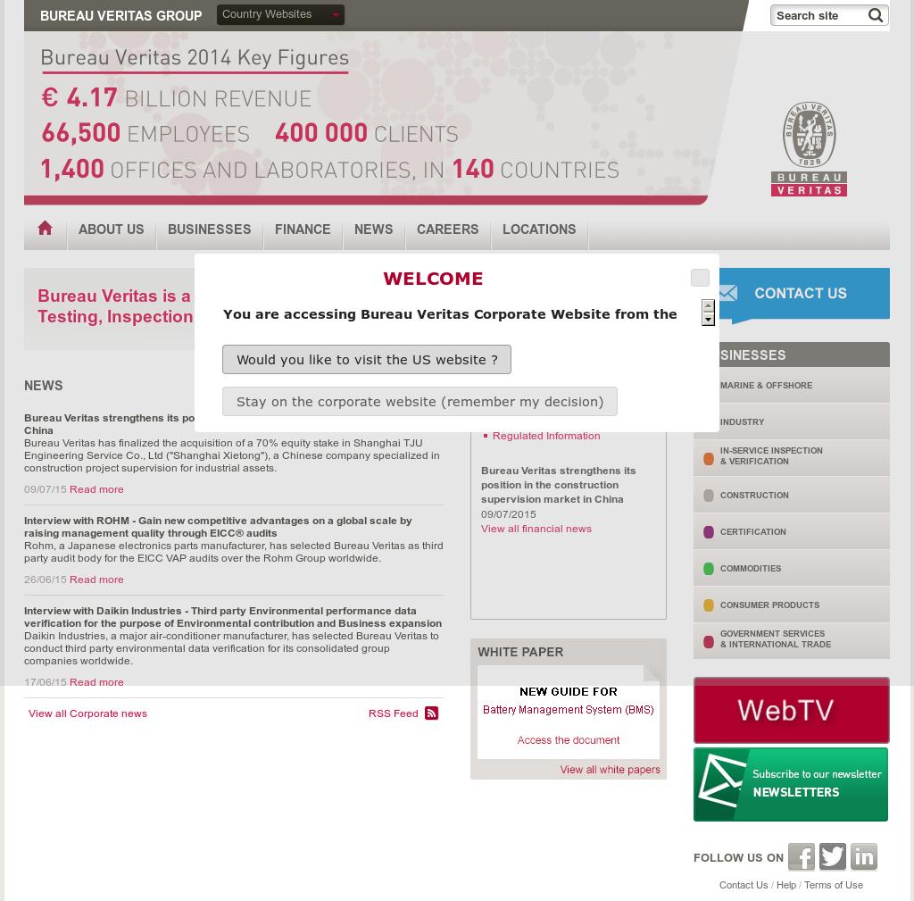 Bureau Veritas Competitors Revenue And Employees Owler Company