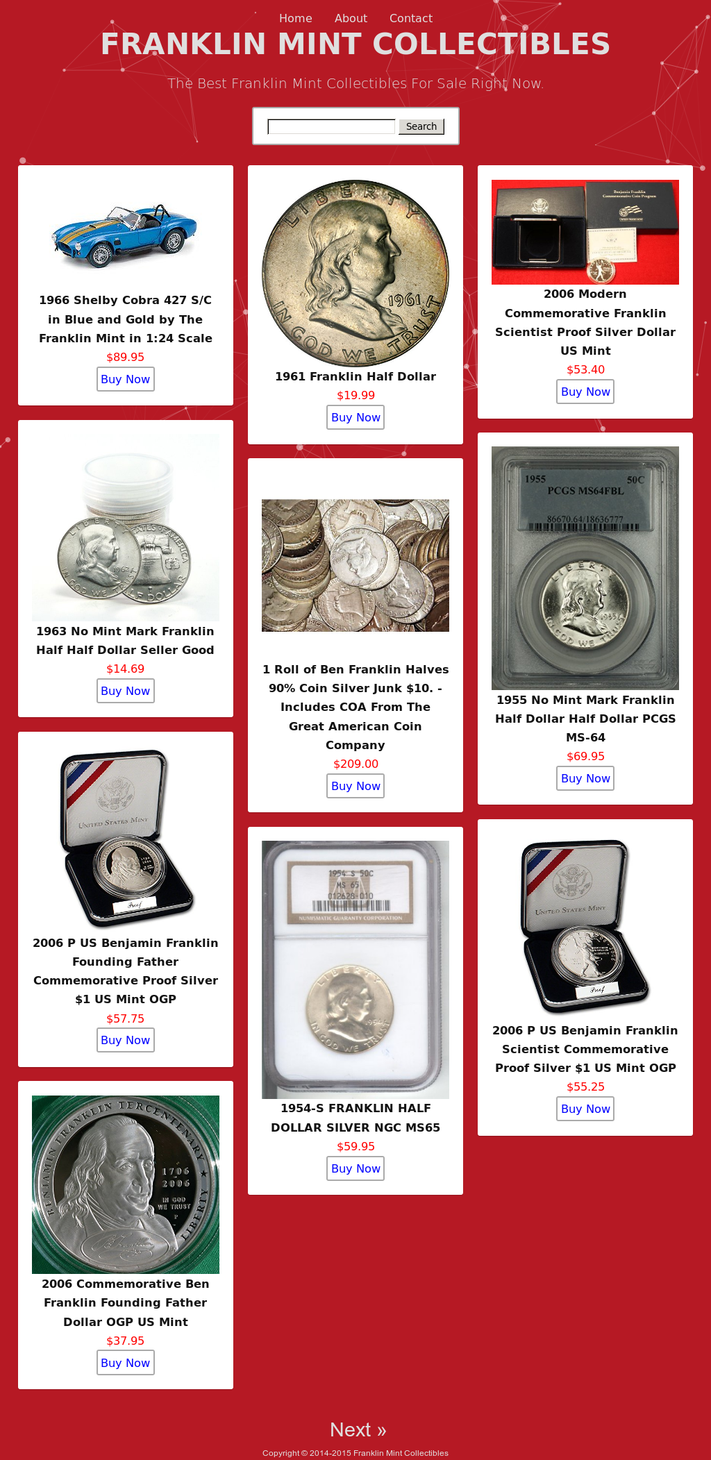 Franklin Mint Collectibles Competitors, Revenue and
