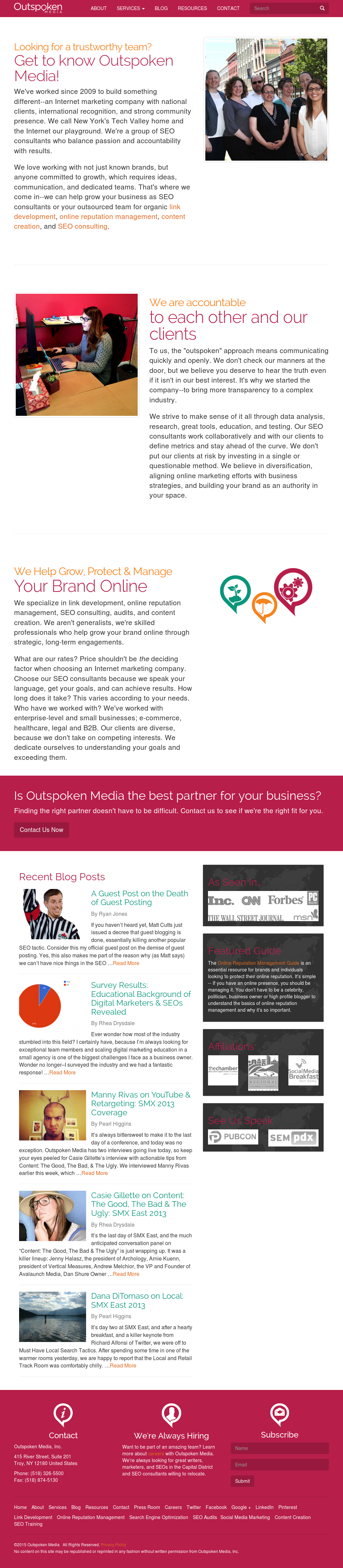 Outspoken Media Competitors, Revenue and Employees - Owler Company