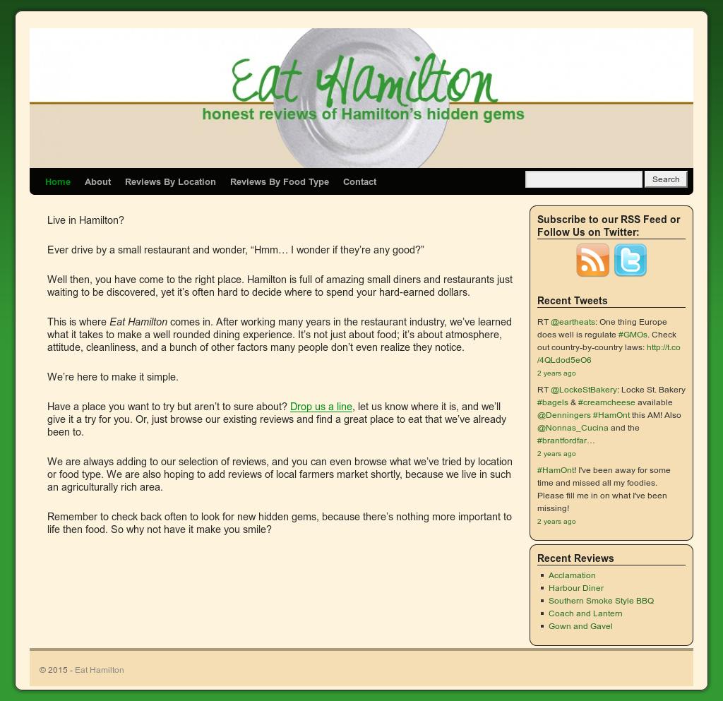 Eat Hamilton Competitors, Revenue and Employees - Owler Company Profile
