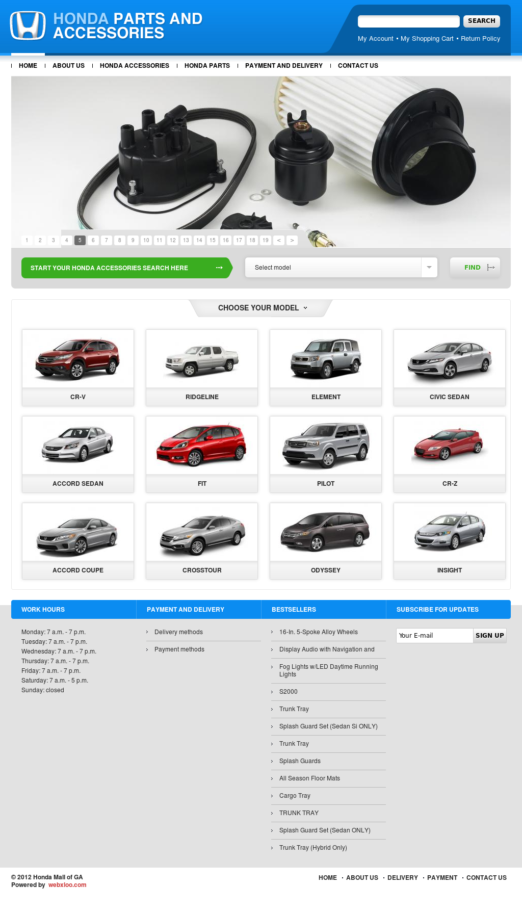 Honda Mall Of Ga Website History