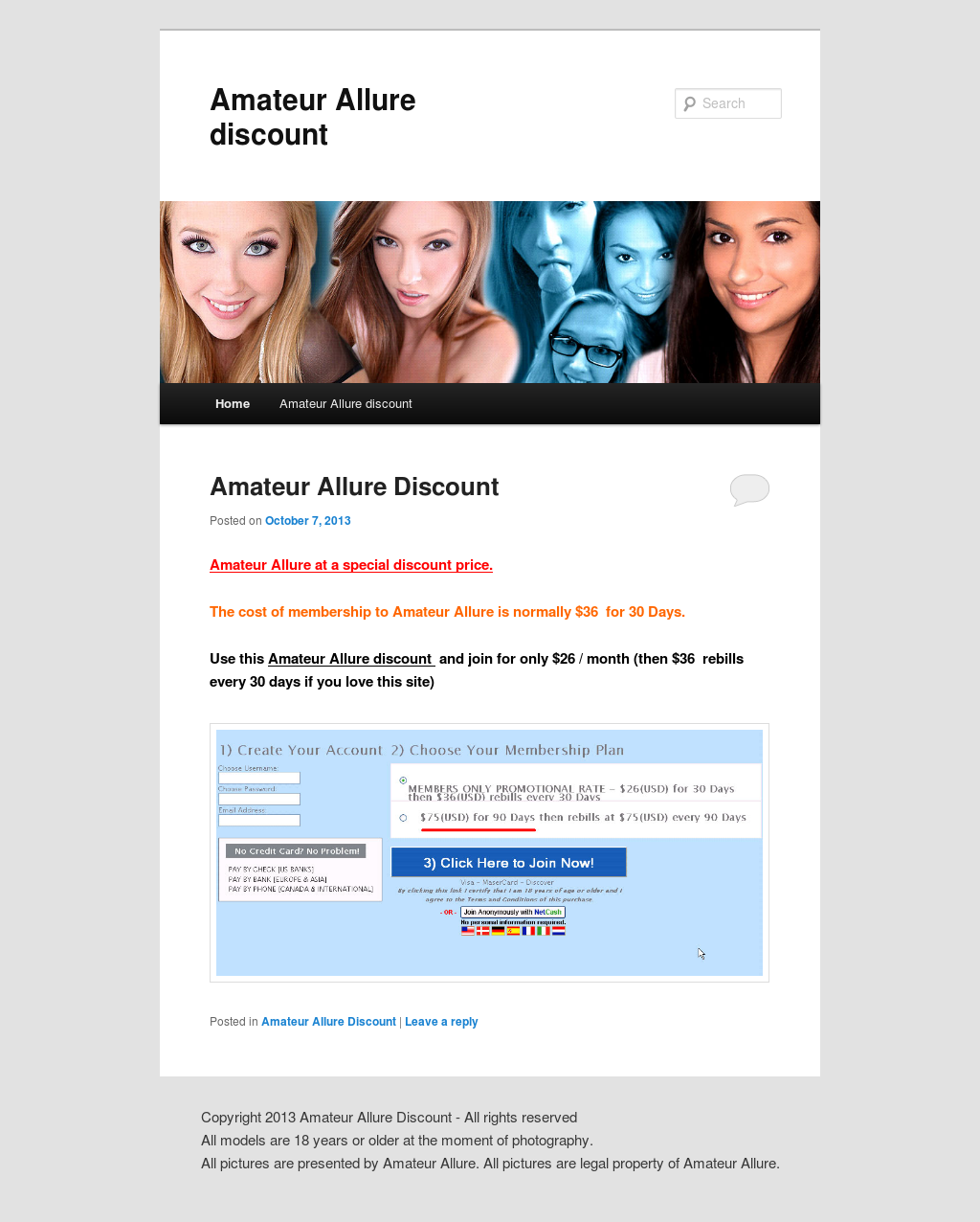 amateur allure discount competitors, revenue and employees - owler