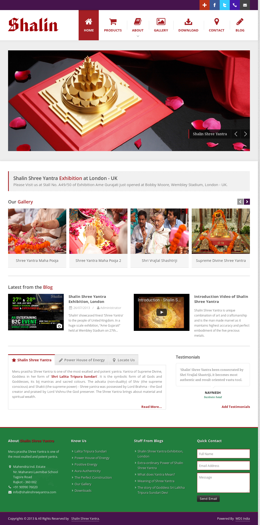 Shalin Shree Yantra Competitors, Revenue and Employees
