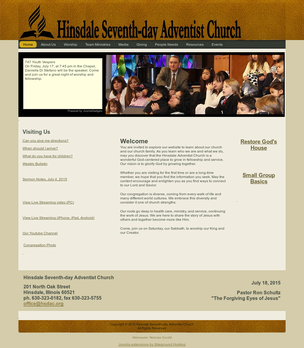 Hinsdale Seventh-day Adventist Church Competitors, Revenue and