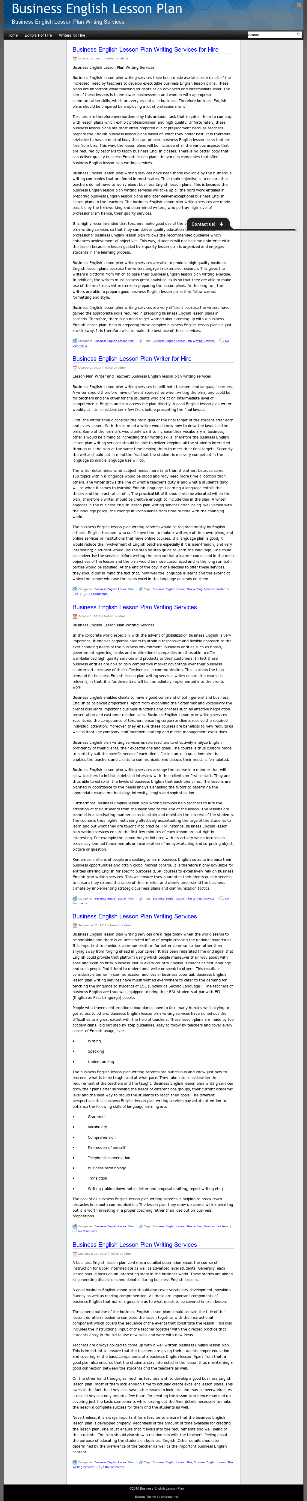 Business English Lesson Plan Competitors, Revenue and Employees