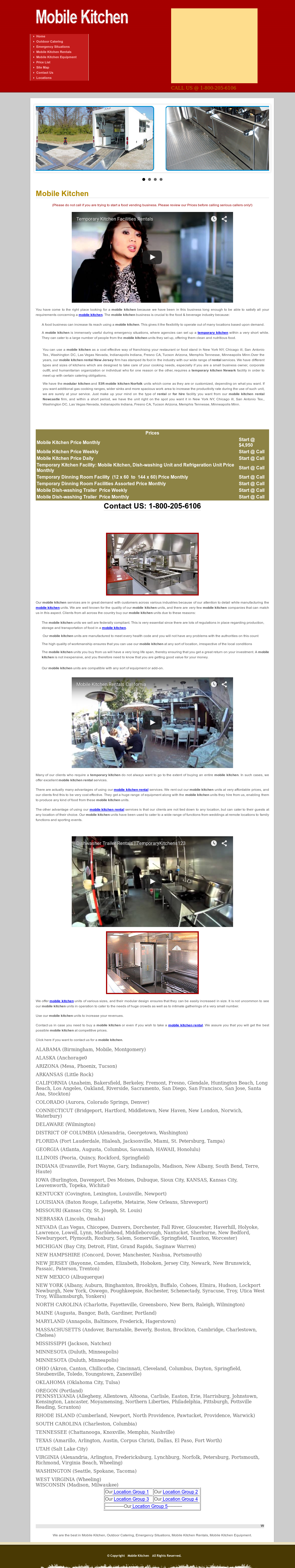 Mobile Kitchen Rental123 Competitors, Revenue and Employees - Owler ...