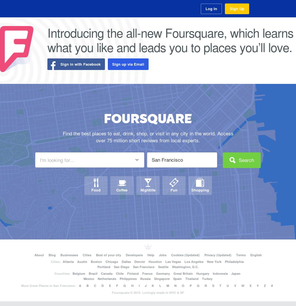 Foursquare Competitors, Revenue and Employees - Owler Company Profile