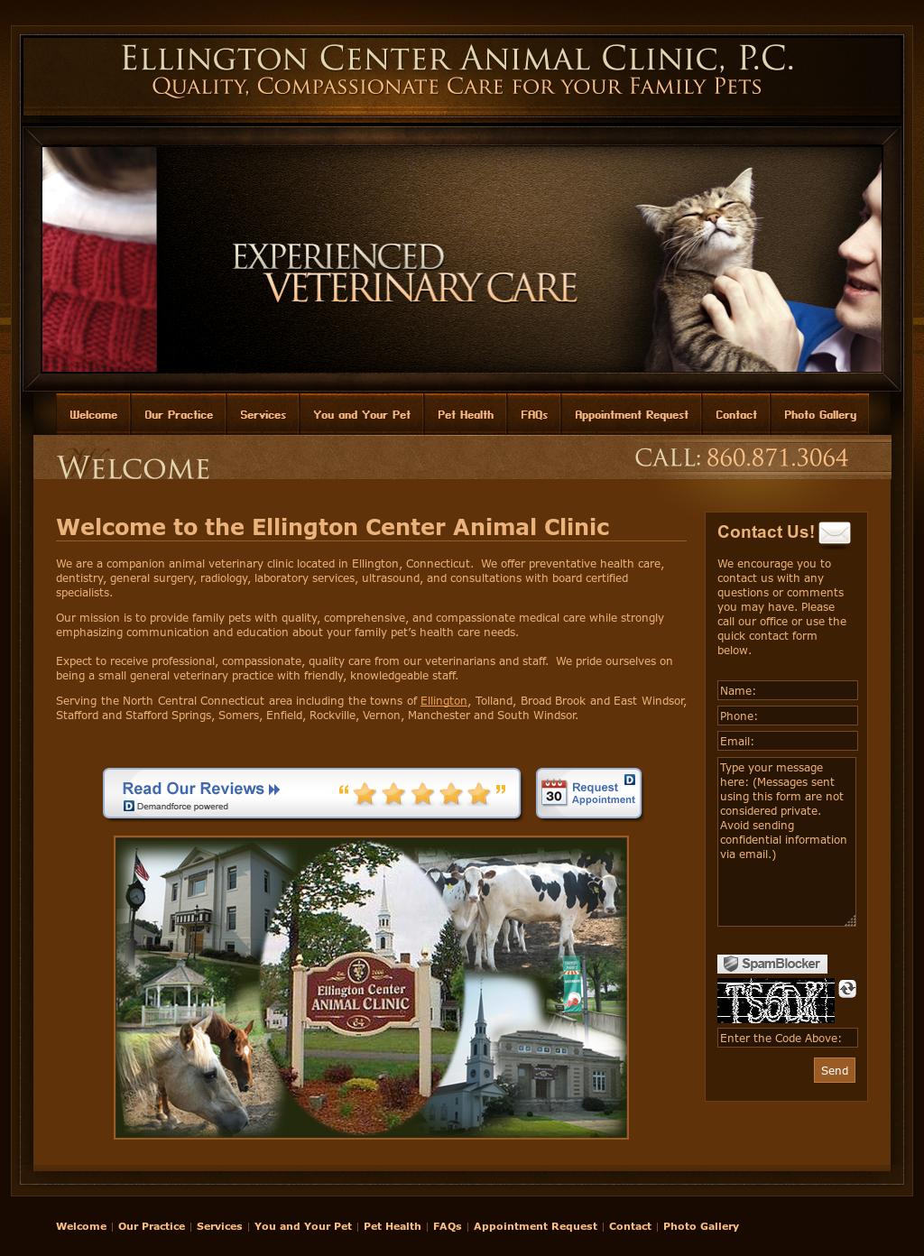 Ellington Center Animal Clinic Competitors, Revenue and