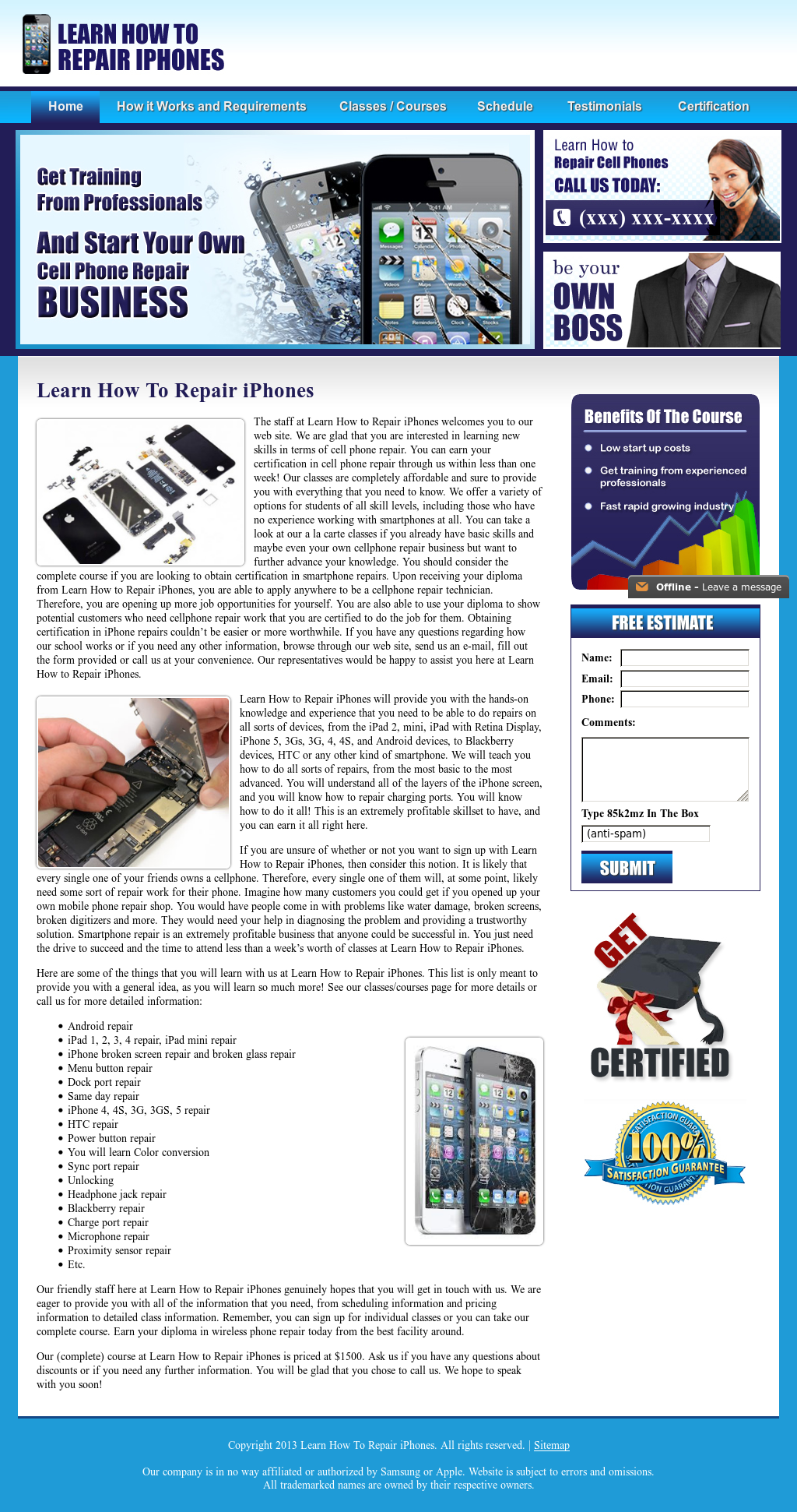 Learn How To Repair Iphones Competitors Revenue And Employees