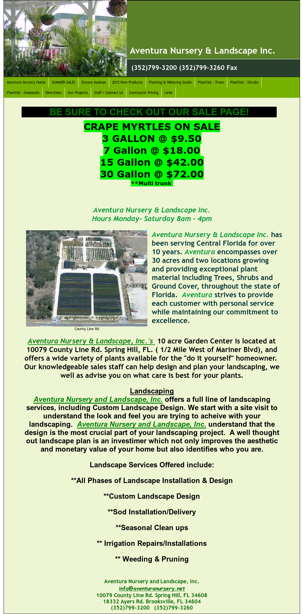 Aventura Nursery Landscaping Compeors Revenue And Employees Owler Company Profile