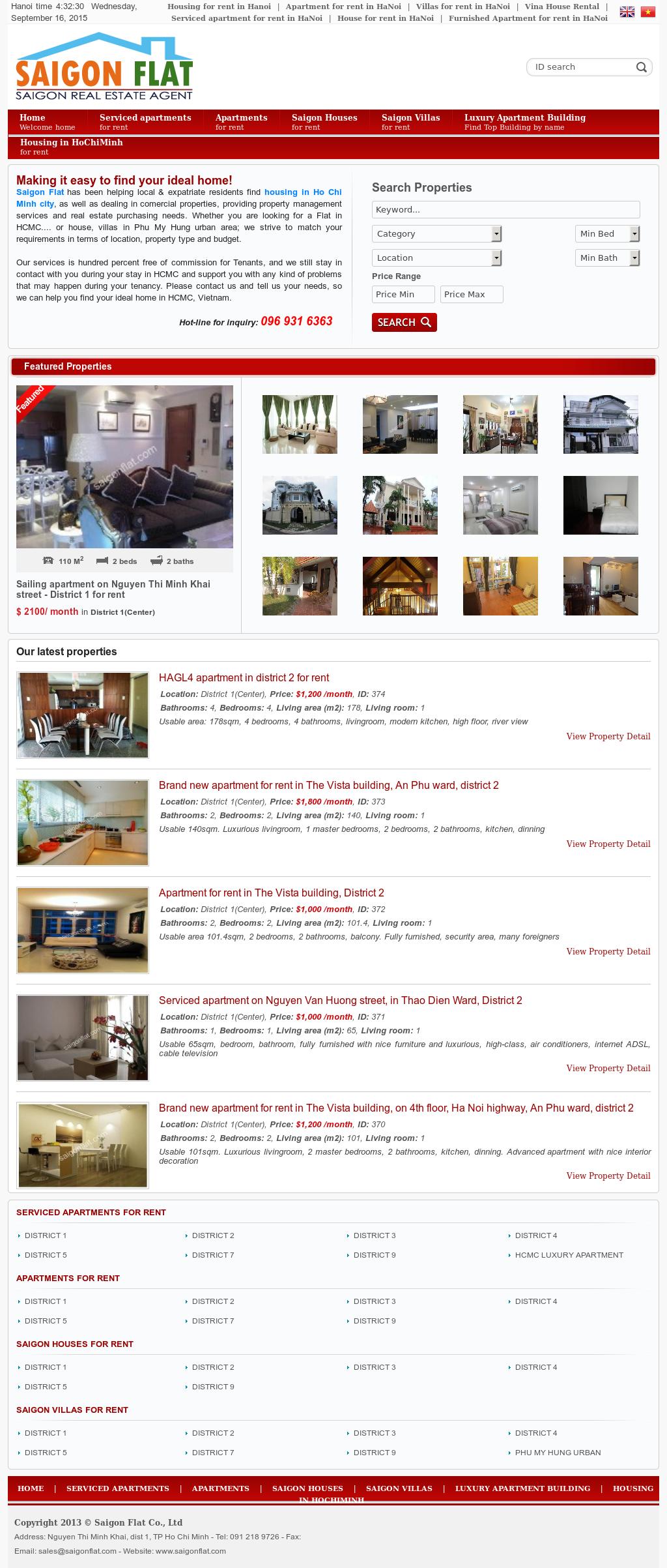 Saigon Flat Competitors, Revenue and Employees - Owler Company Profile