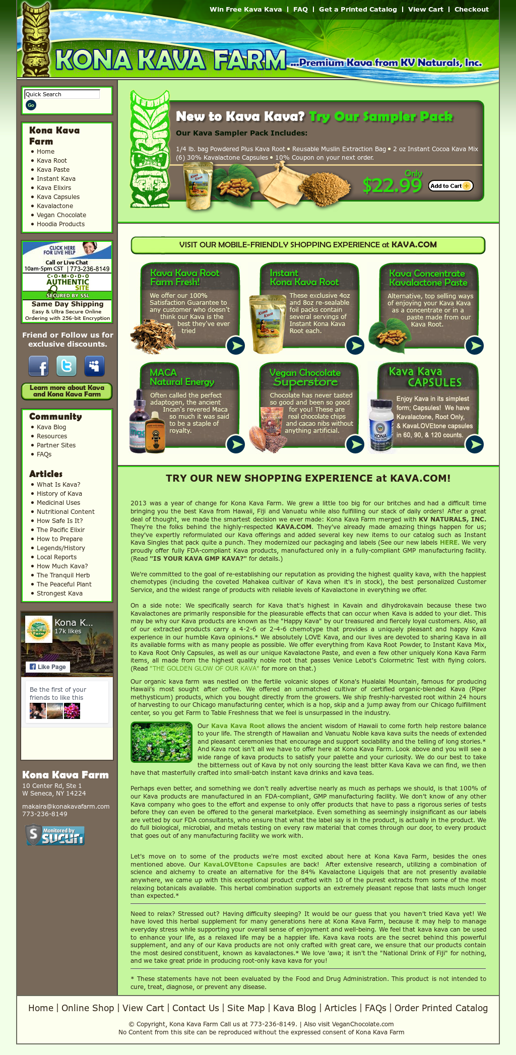 Kona Kava Farm Competitors, Revenue and Employees - Owler