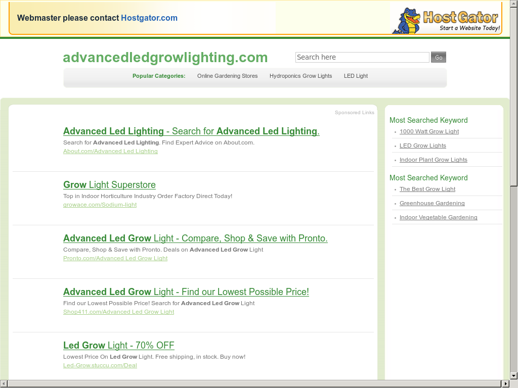 Advanced Led Grow Lighting Competitors Revenue And