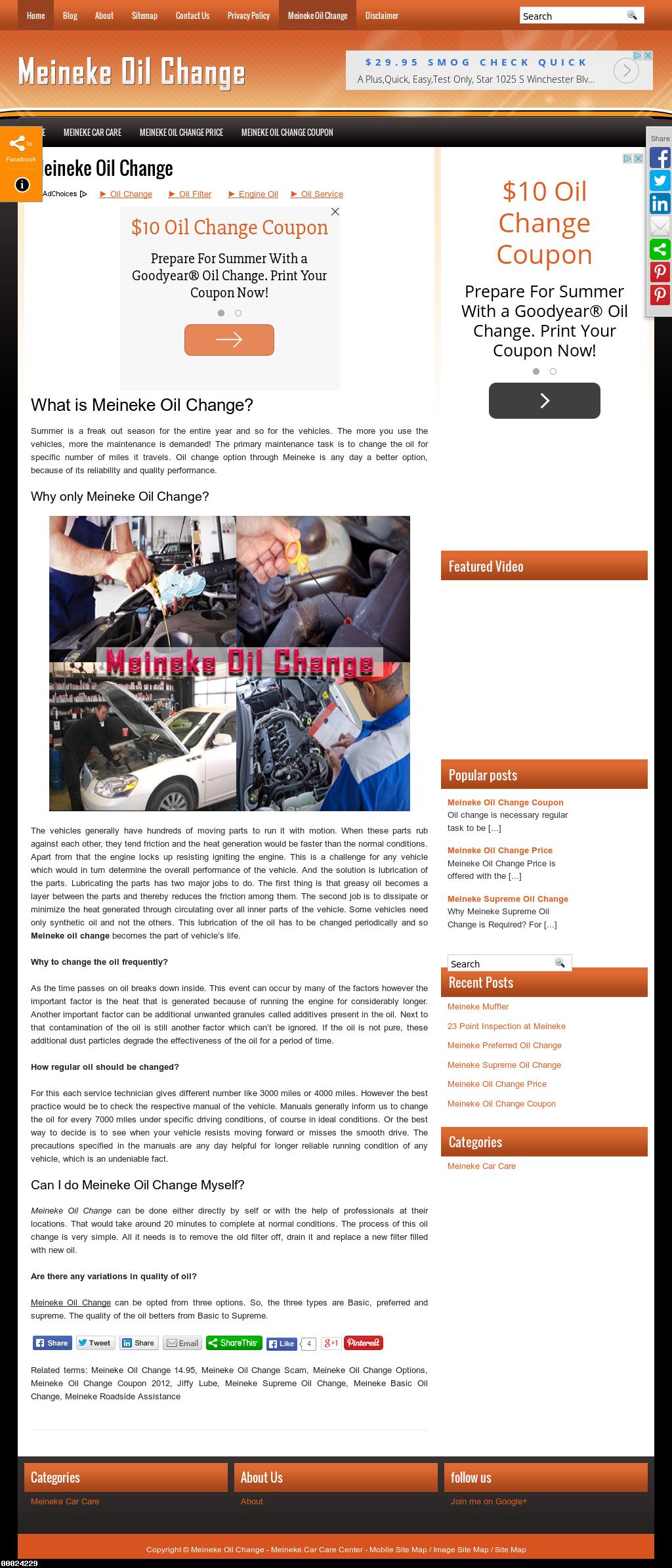 Meineke Oil Change >> Meineke Oil Change Competitors Revenue And Employees