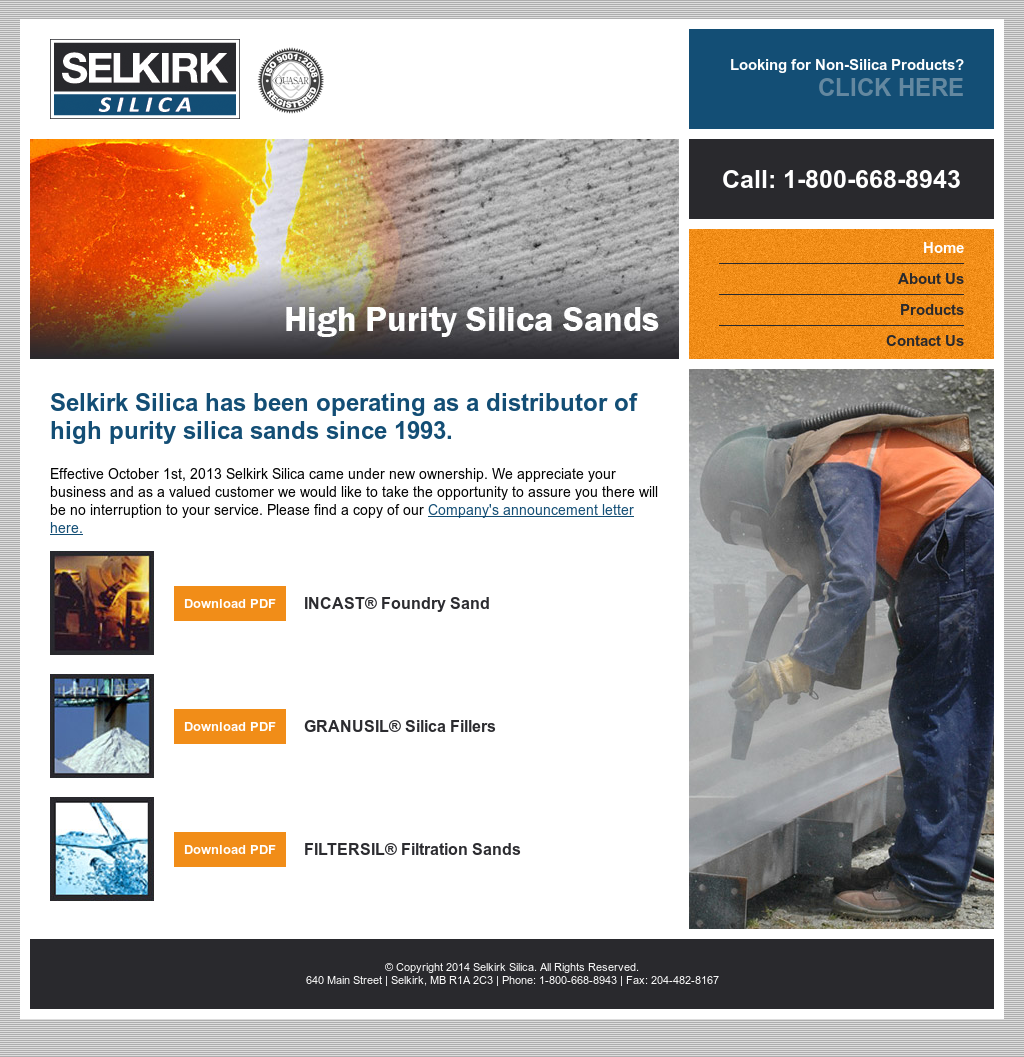 Selkirk Silica Competitors, Revenue and Employees - Owler Company