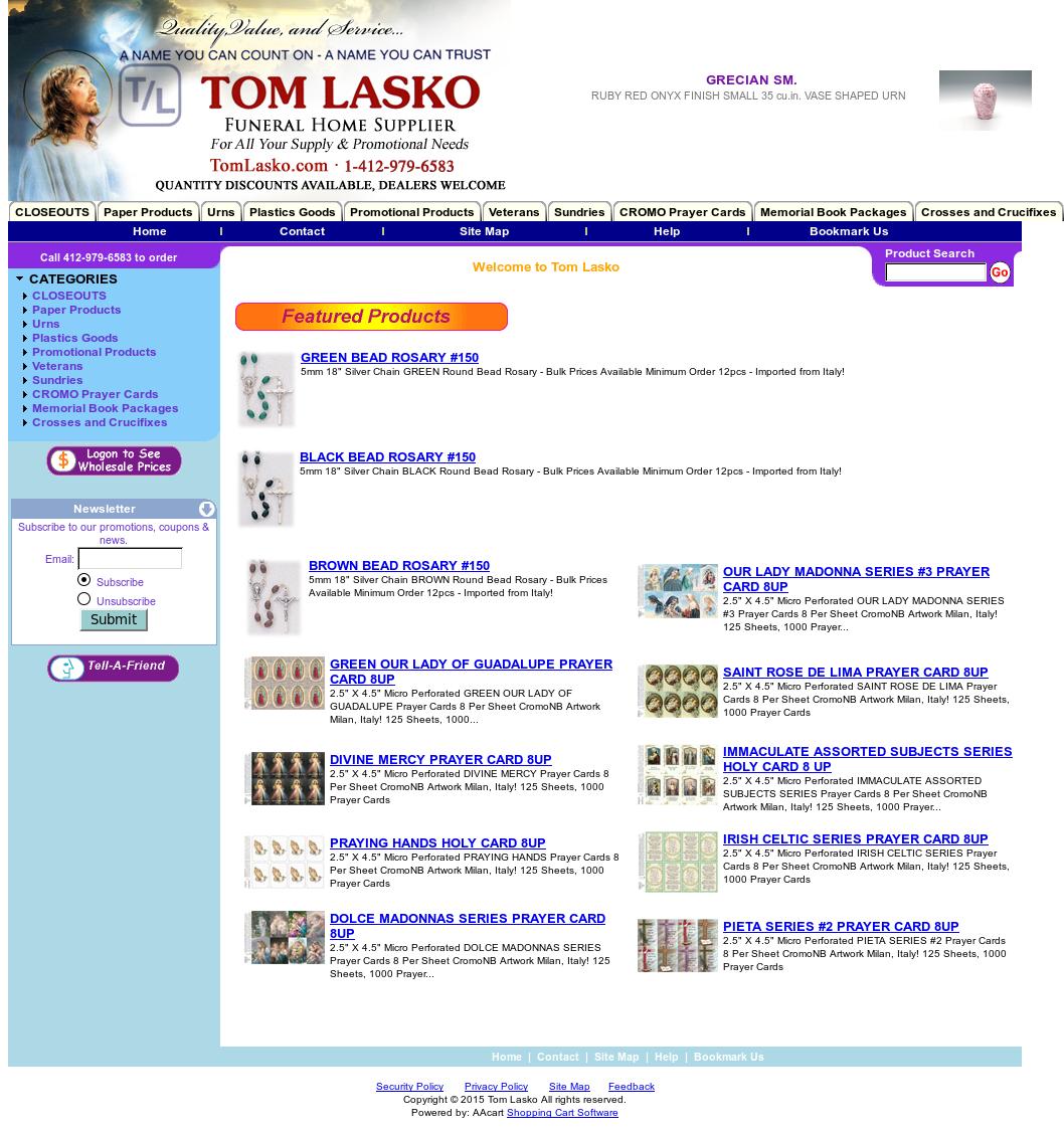 Tom Lasko Competitors, Revenue and Employees - Owler Company