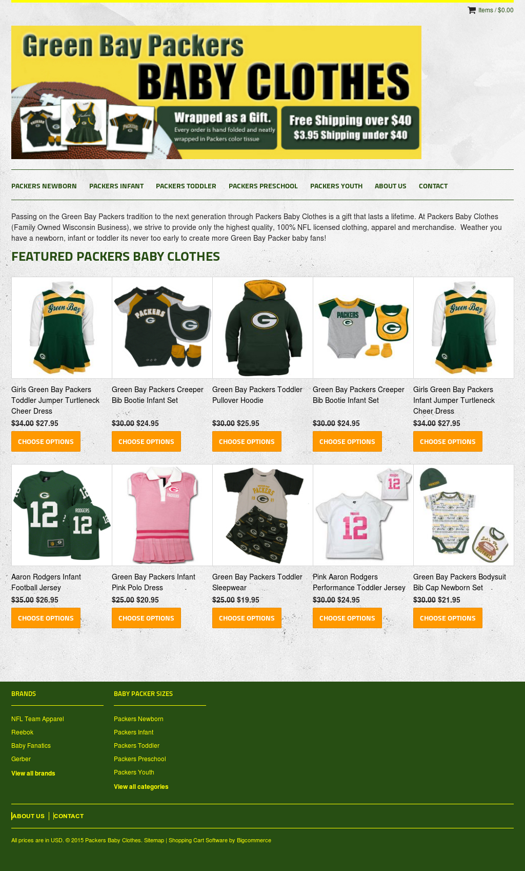Packers Baby Clothes Competitors Revenue And Employees Owler