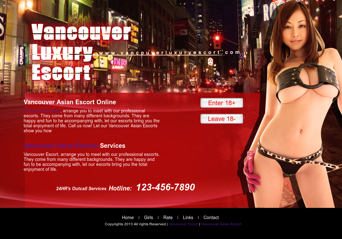 Asian escorts vancouver