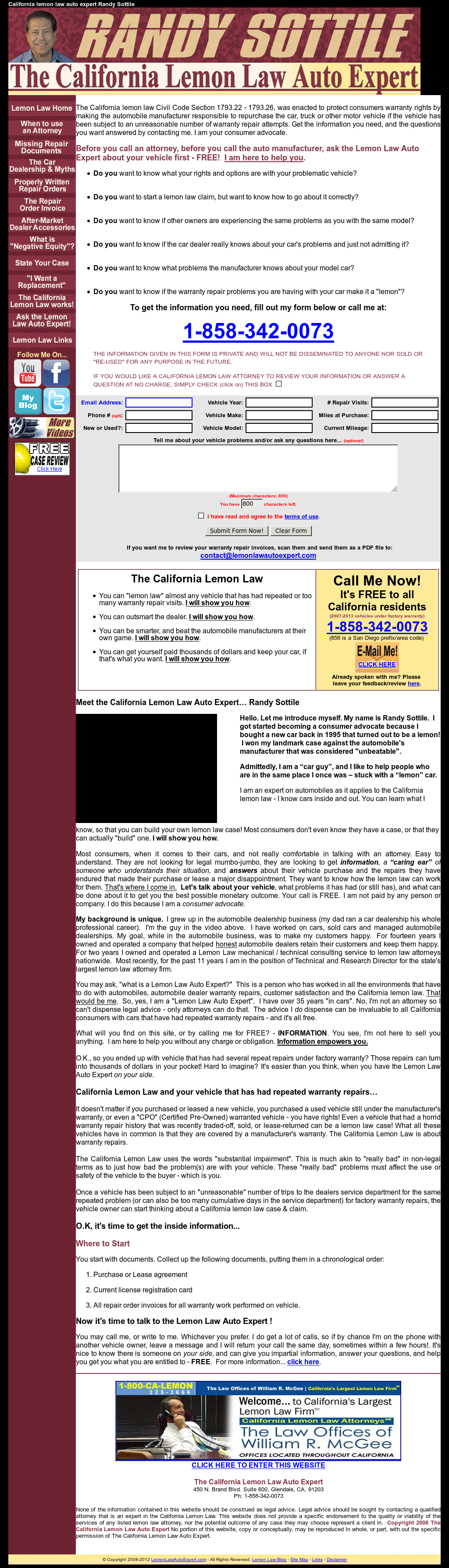 Lemon Law California >> The California Lemon Law Auto Expert Competitors Revenue