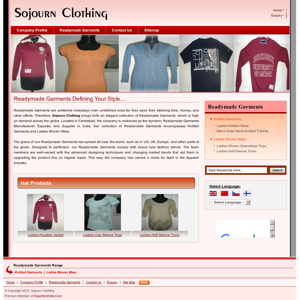 Sojourn Clothing Competitors, Revenue and Employees - Owler Company