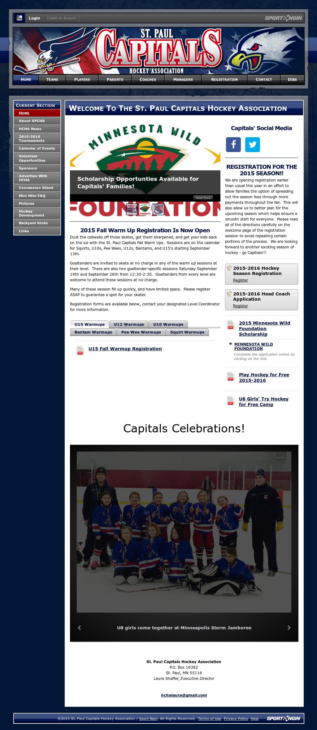 St Paul Capitals Hockey Association Competitors Revenue And