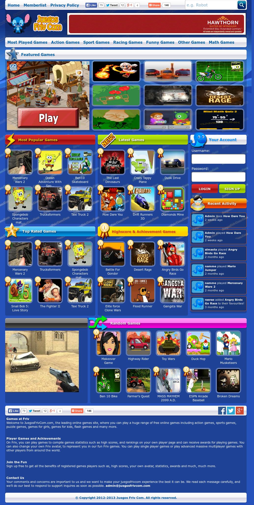 Juegos Friv Com Competitors Revenue And Employees Owler Company