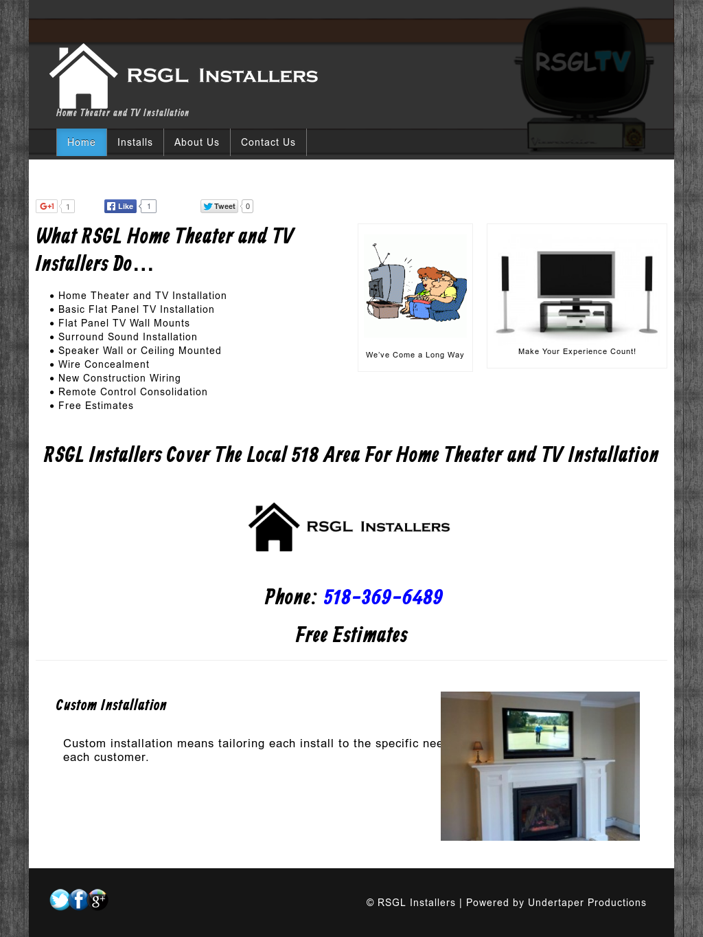 Rsgl Installers Competitors Revenue And Employees Owler Company New Construction Wiring Home Theater Profile