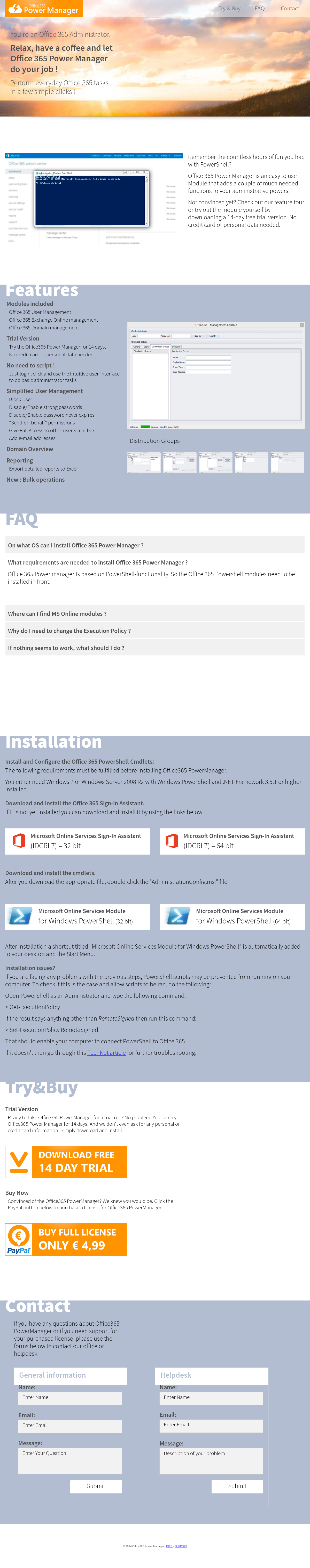 Office365 Power Manager Competitors Revenue And Employees Owler Remote Website History