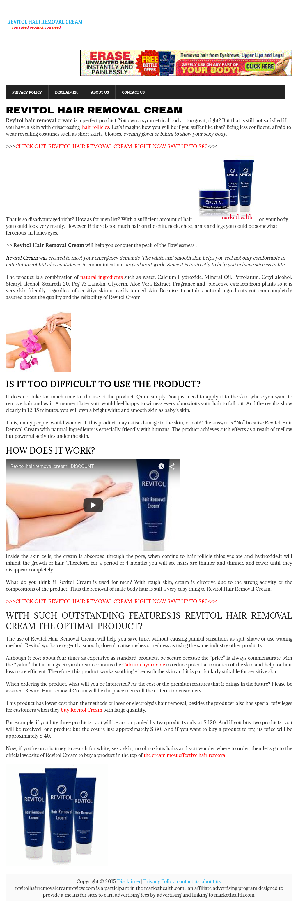 Revitol Hair Removal Cream Competitors Revenue And Employees