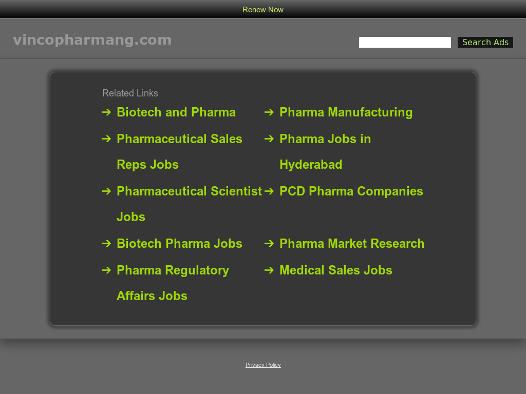 Vinco Pharmaceuticals Competitors, Revenue and Employees