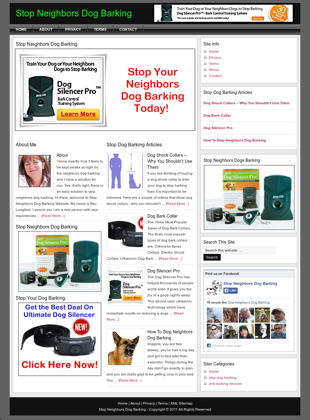 Stop Neighbors Dog Barking Competitors, Revenue and