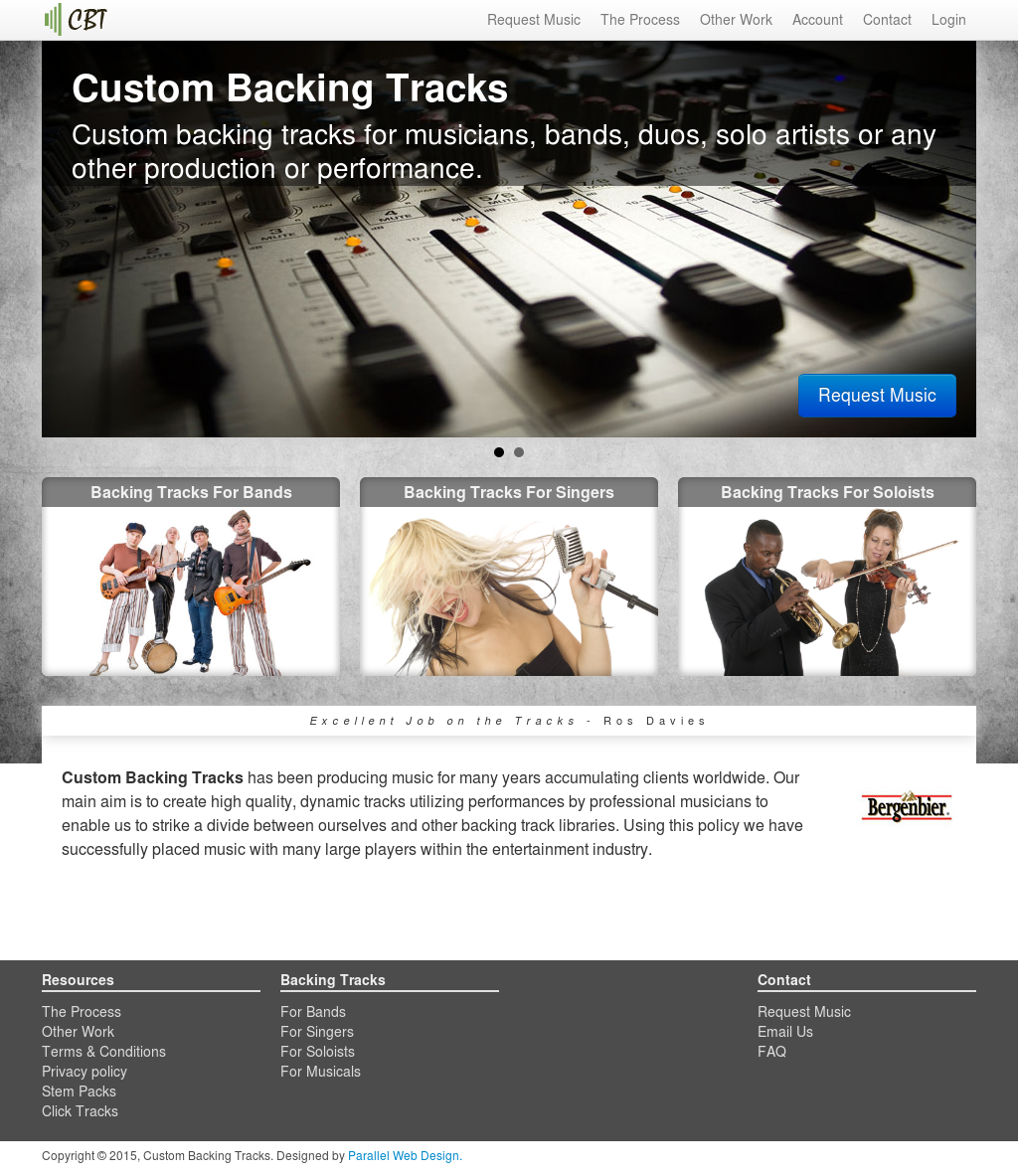 Custom Backing Tracks Competitors, Revenue and Employees