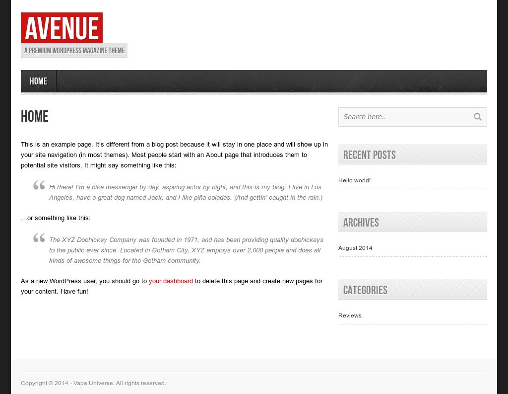 Vape Universe Competitors, Revenue and Employees - Owler Company Profile