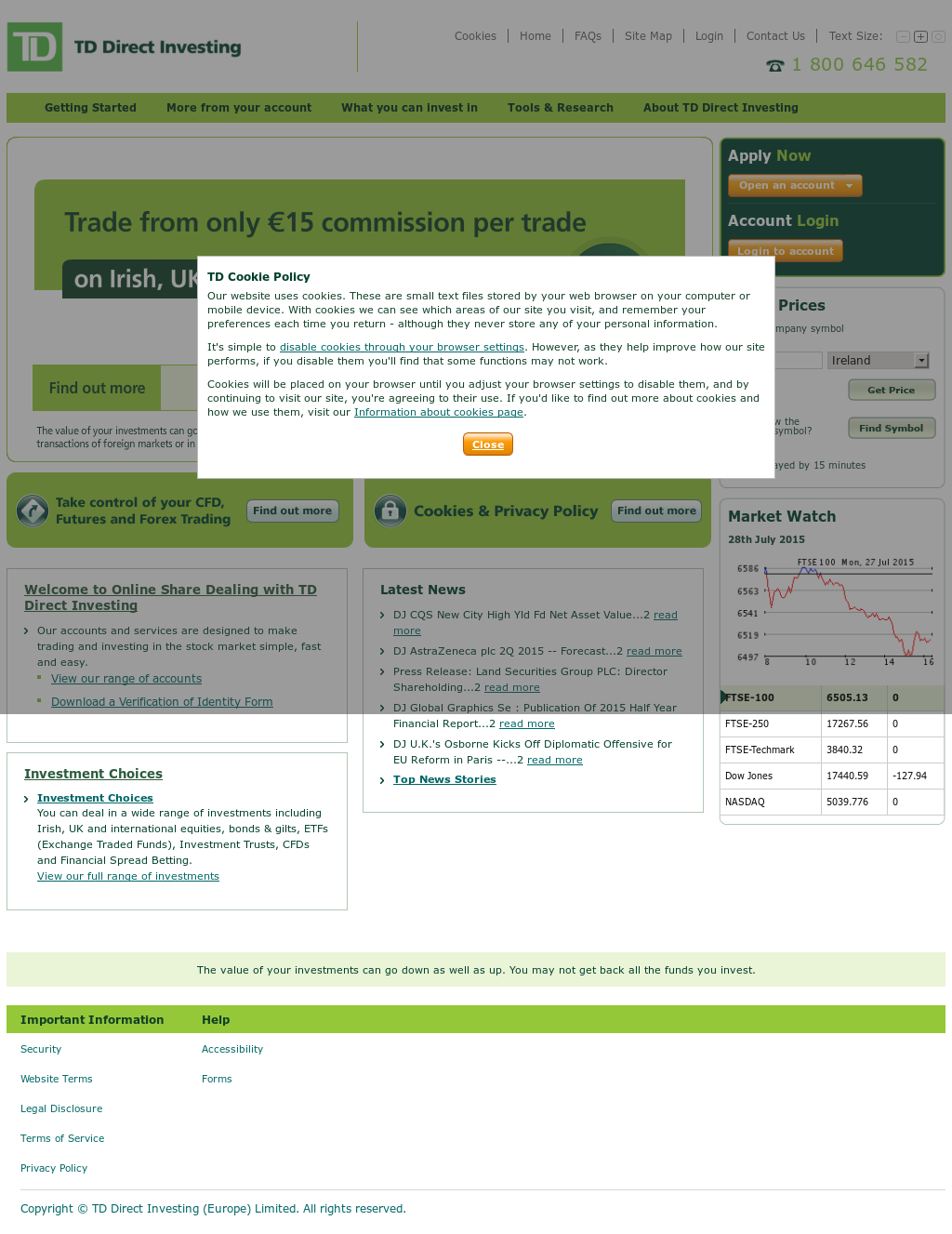 Td Direct Investing Competitors, Revenue and Employees