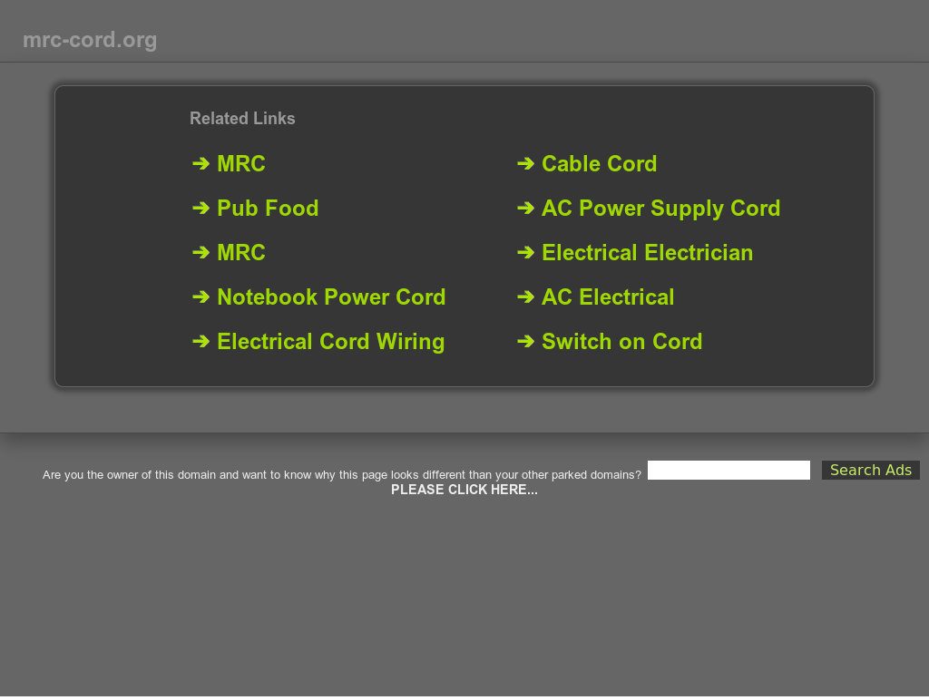 Mrc Cord Competitors Revenue And Employees Owler Company Profile Ac Power Wiring
