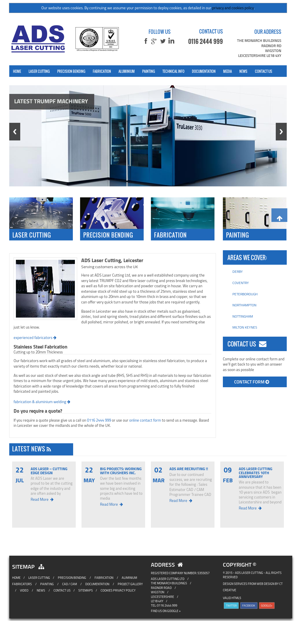 Ads Laser Cutting Competitors, Revenue and Employees - Owler