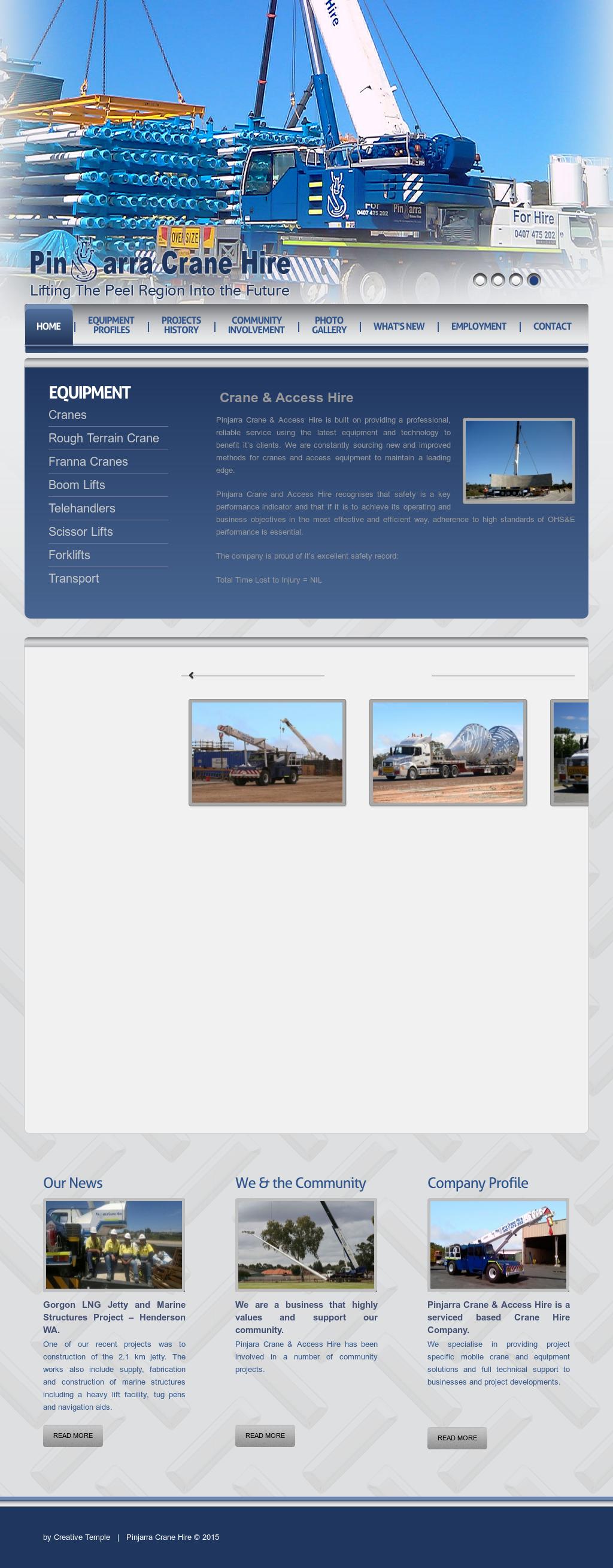 Pinjarra Crane Hire Competitors, Revenue and Employees