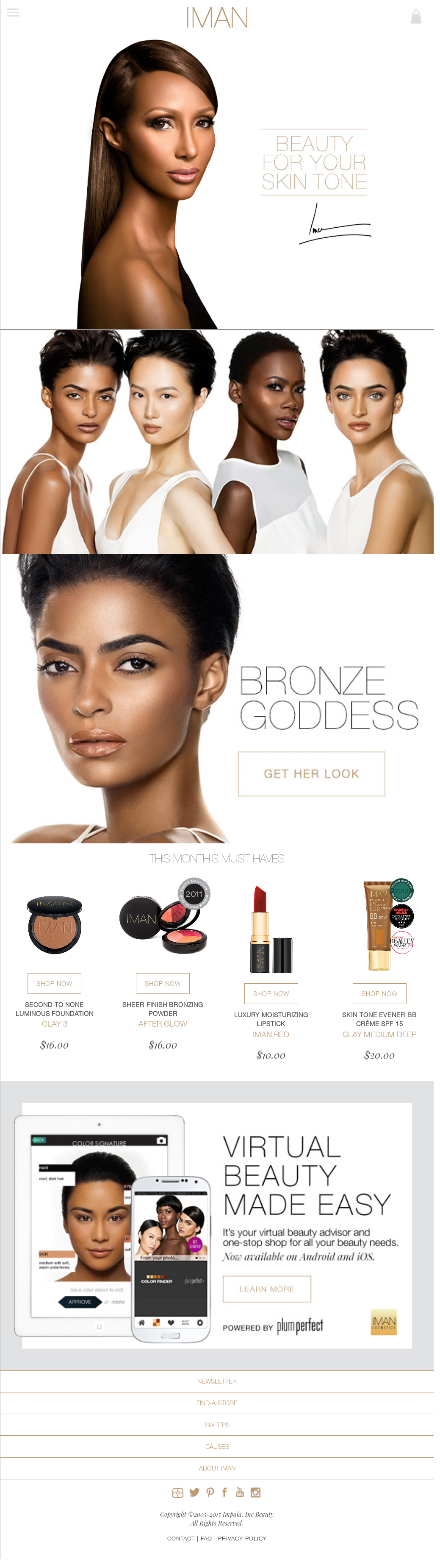 To acquire Beauty News: Iman Cosmetics To Launch CC Cream Collection and App picture trends
