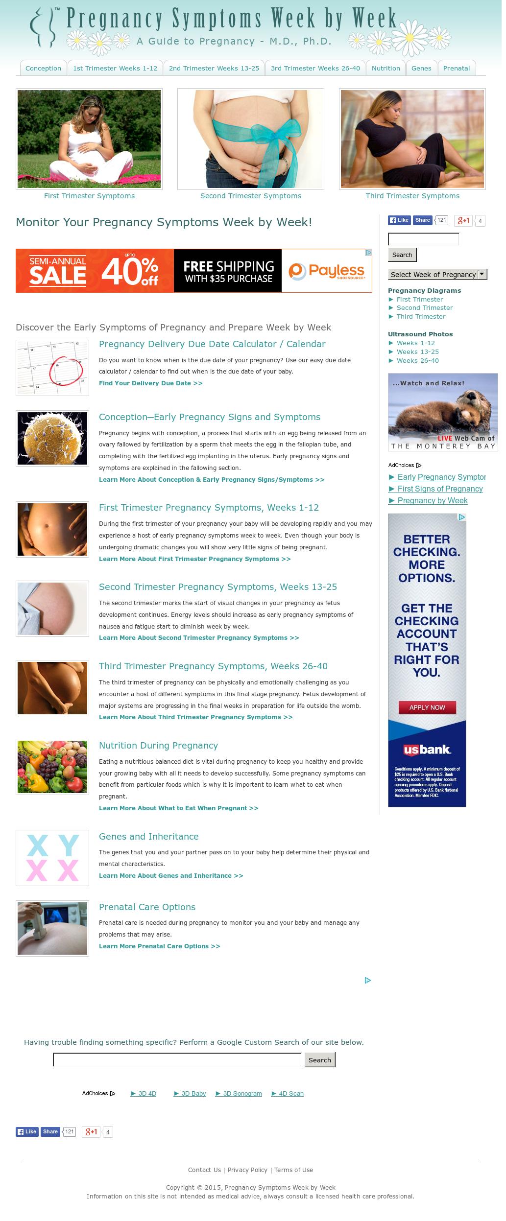 Pregnancy Symptoms Week By Week Competitors, Revenue and