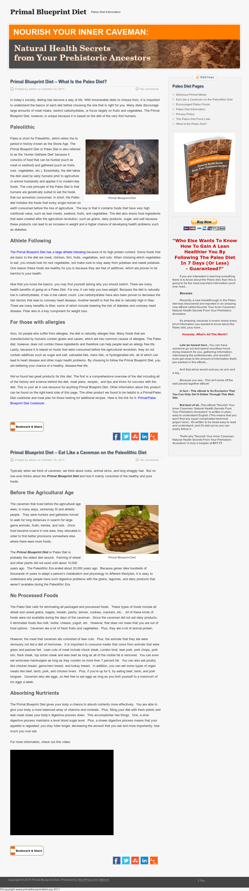 Primal blueprint diet competitors revenue and employees owler primal blueprint diet website history malvernweather Gallery