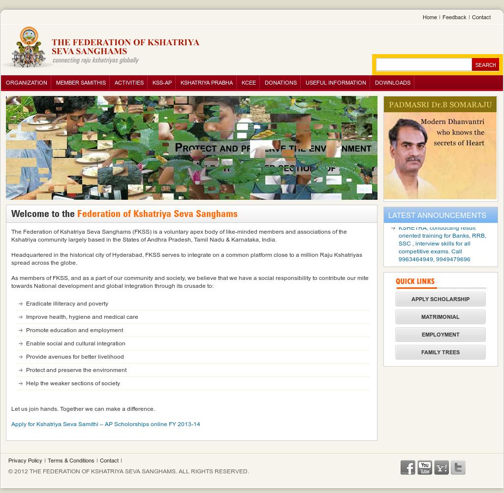 The Federation Of Kshatriya Seva Sanghams Competitors, Revenue and