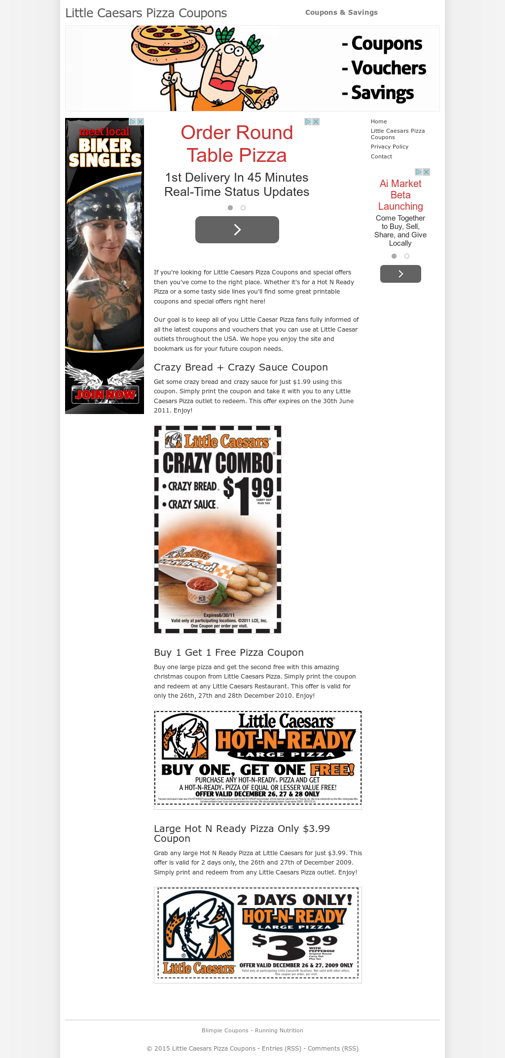 Little Caesars Pizza Coupons Competitors, Revenue and Employees ...