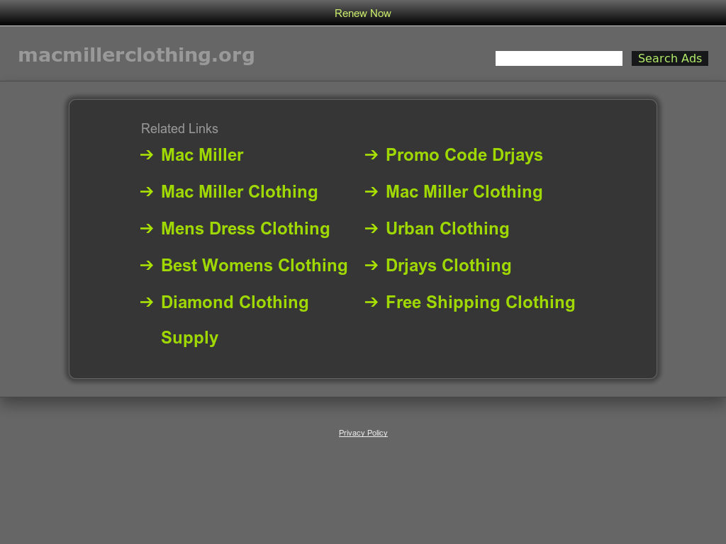 Mac Miller Clothing Competitors Revenue And Employees Owler