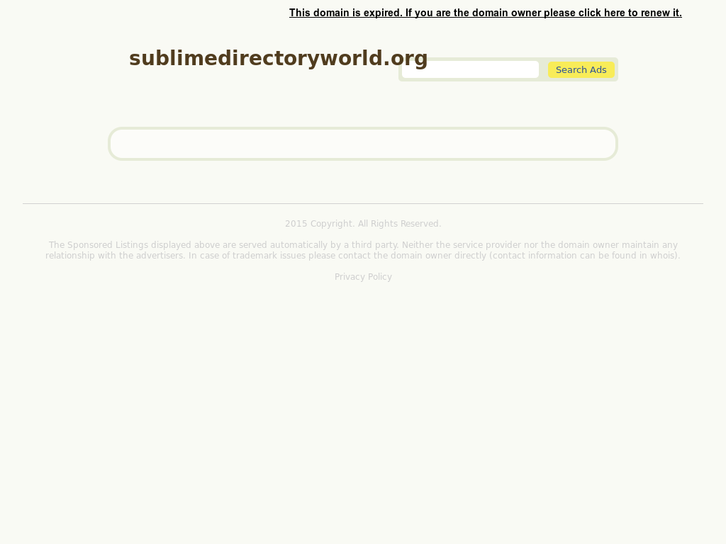 Sublime Directory Content Queries Solutionss Website Screenshot On Sep