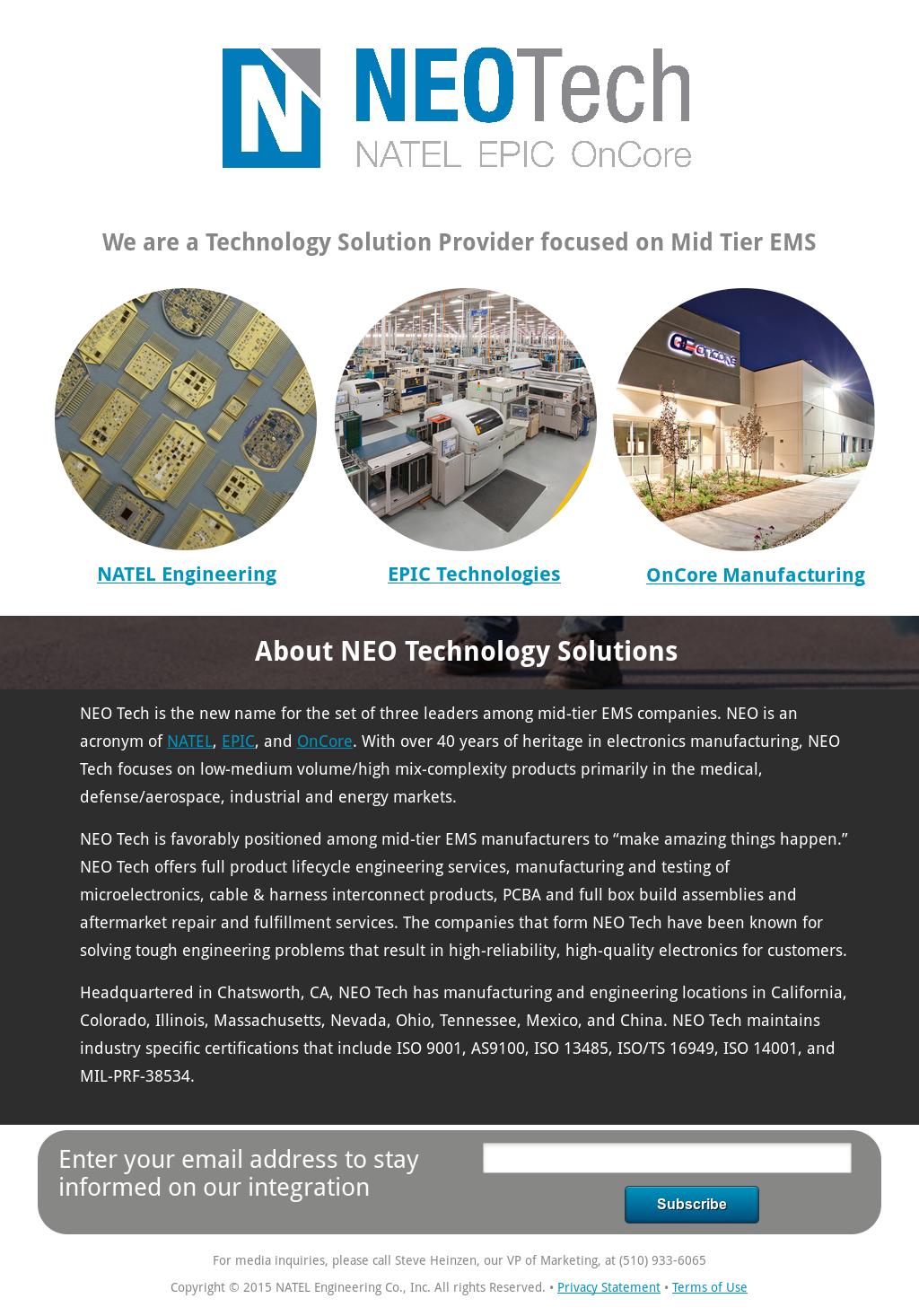 Neo Tech Competitors, Revenue and Employees - Owler Company Profile