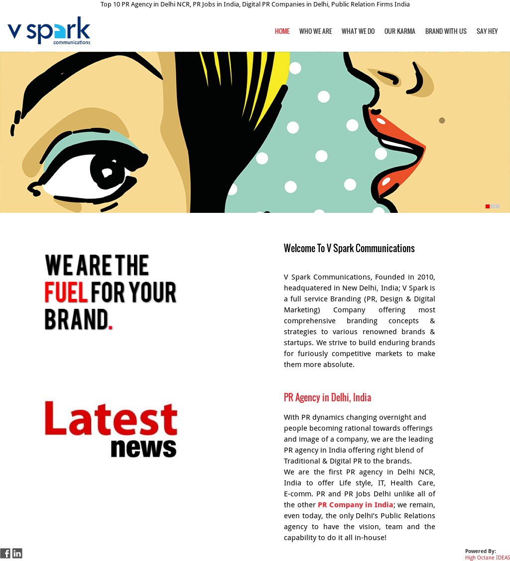 V Spark Communications Competitors, Revenue and Employees