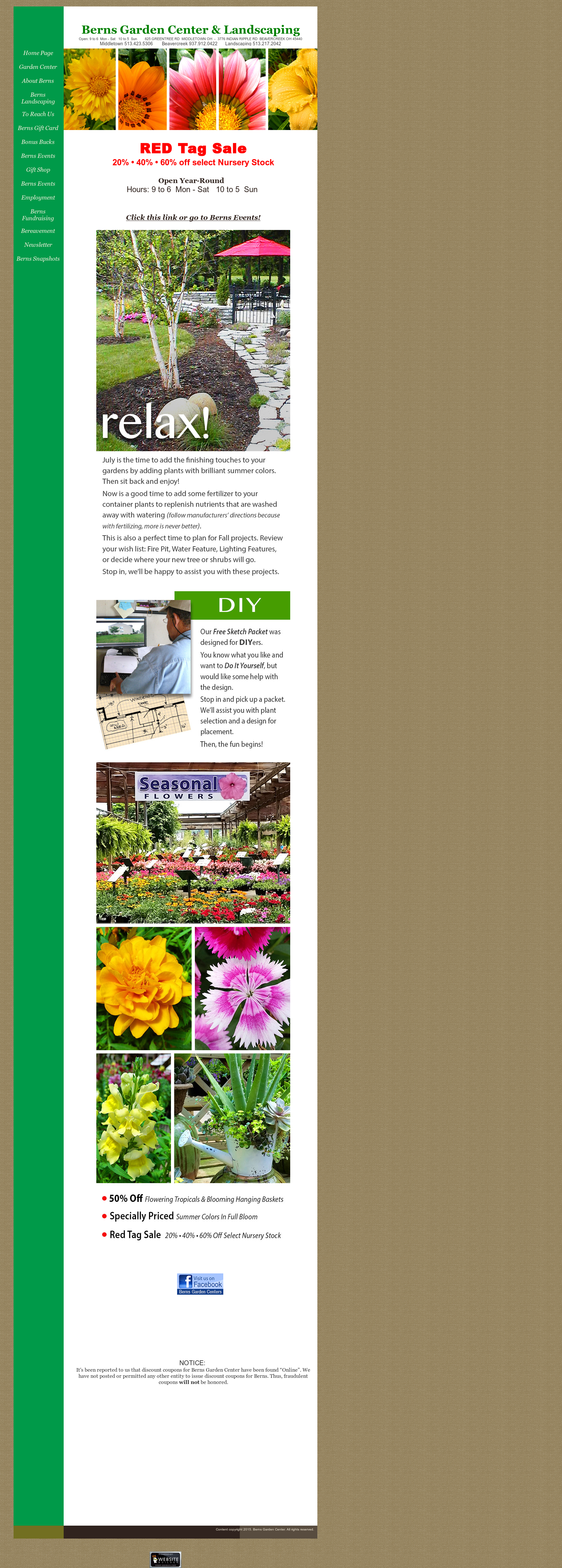 Berns Garden Center Competitors, Revenue and Employees - Owler ...