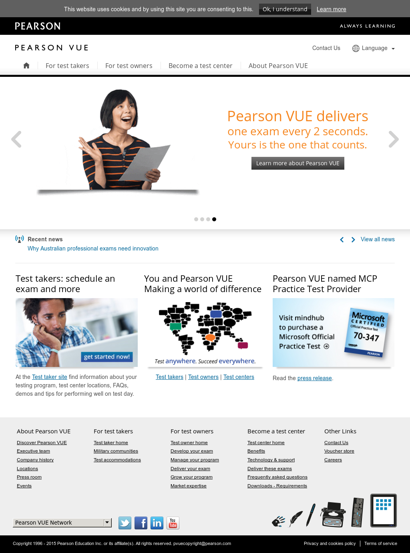 Pearson Vue Competitors Revenue And Employees Owler Company Profile