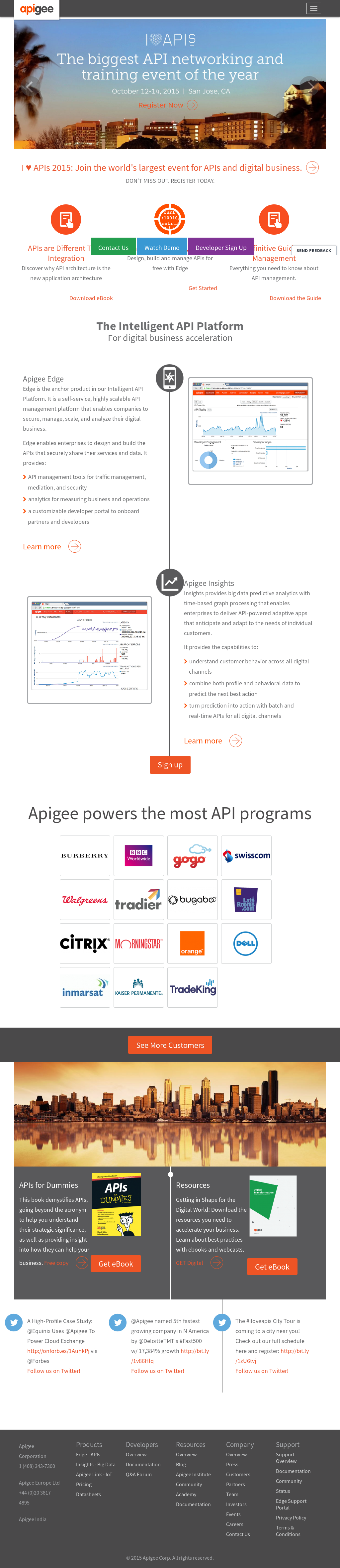 Apigee Competitors, Revenue and Employees - Owler Company